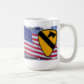 1st Cavalry Division Classic White Coffee Mug