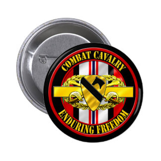1st Cavalry Division OEF Cavalry Scout Pins