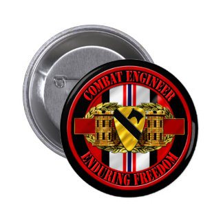 1st Cavalry Division OEF Engineer Pins