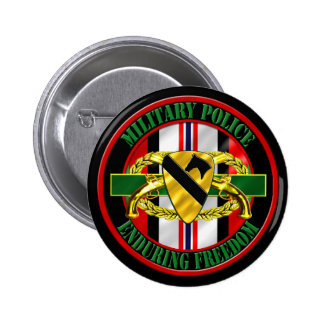 1st Cavalry Division OEF Military Police Pin