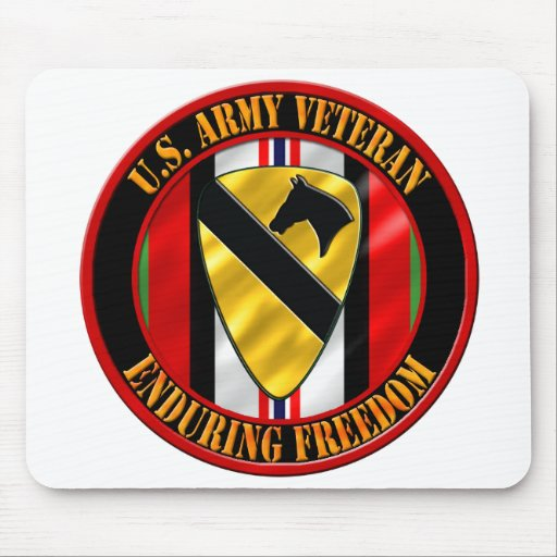 1st Cavalry Division OEF Mousepad
