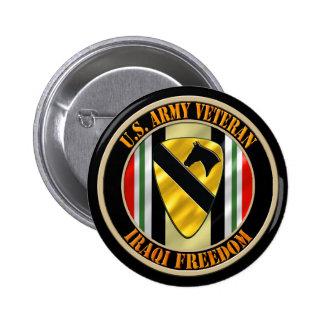 1st Cavalry Division OIF 6 Cm Round Badge