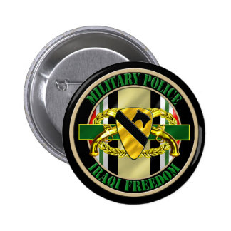 1st Cavalry Division OIF Military Police Buttons