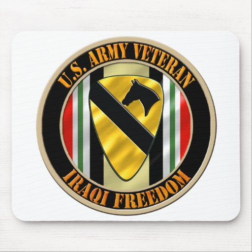 1st Cavalry Division OIF Mouse Pads