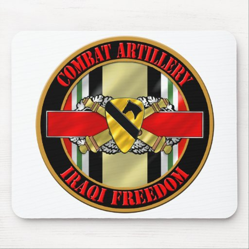 1st Cavalry Division OIF Mousepad