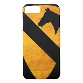 1st Cavalry Division Patch Worn iPhone 7 Case
