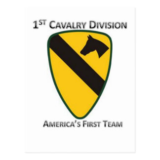 1st Cavalry Division Postcard