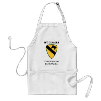 1st Cavalry Division Standard Apron