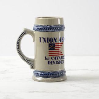 1st Cavalry Division, Union Army Civil War Stein Beer Steins