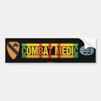 1st Cavalry Division Vietnam COMBAT MEDIC Sticker Bumper Sticker