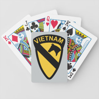 1st Cavalry Division - Vietnam Poker Cards