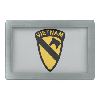 1st Cavalry Division - Vietnam Rectangular Belt Buckle