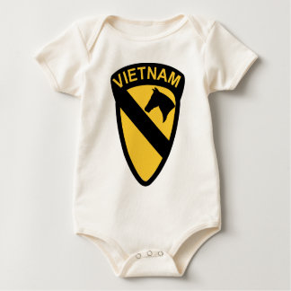 1st Cavalry Division - Vietnam Bodysuits