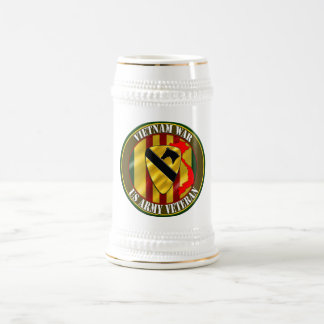 1st Cavalry Division Vietnam Veteran Beer Stein