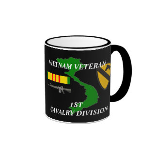 1st Cavalry Division Vietnam Veteran Coffee Mugs
