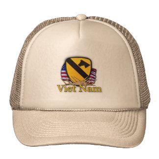 1st cavalry division vietnam veterans hat mesh hat