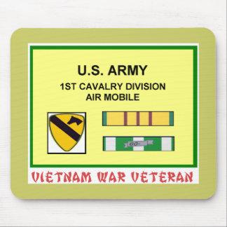 1ST CAVALRY DIVISION VIETNAM WAR VET MOUSE PAD