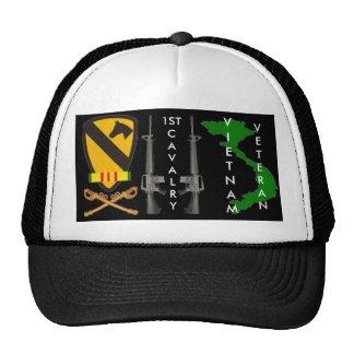 1St Cavalry Vietnam Veteran Ball Caps Cap