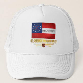 1st Cherokee Mounted Rifles Trucker Hat
