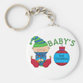 1st Christmas Elf Tshirts and Gifts Keychain