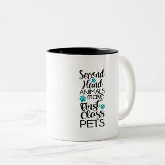 1st Class Pets Two-Tone Coffee Mug