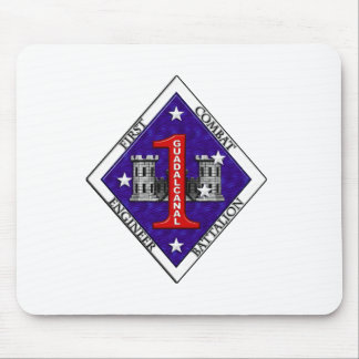 1st Combat Engineer Battalion Mouse Pad
