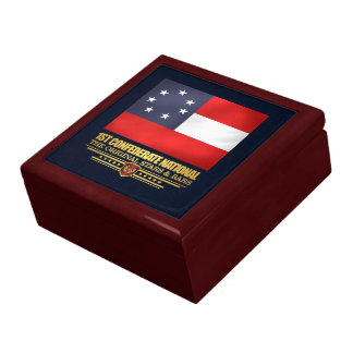 1st Confederate National Large Square Gift Box