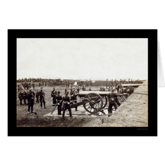 1st Connecticut Heavy Artillery at Fort Richardson Card