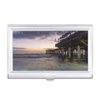 1st Dawn Cocoa Pier Business Card Holder