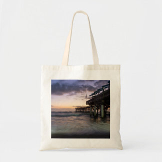 1st Dawn Cocoa Pier Tote Bag