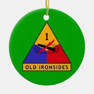 1ST DIVISION Old Ironsides ORNAMENT