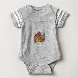 1st February - Baked Alaska Day Baby Bodysuit