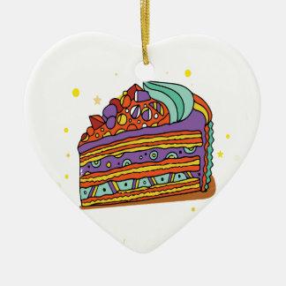 1st February - Baked Alaska Day Ceramic Ornament