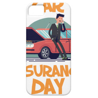 1st February - Car Insurance Day Barely There iPhone 5 Case