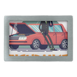 1st February - Car Insurance Day Belt Buckles