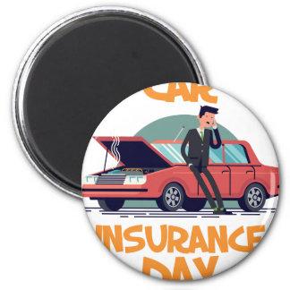 1st February - Car Insurance Day Magnet