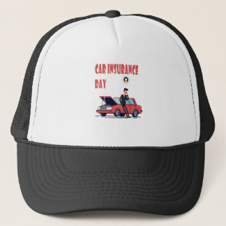 1st February - Car Insurance Day Trucker Hat
