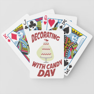 1st February - Decorating With Candy Day Bicycle Playing Cards