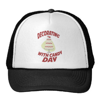 1st February - Decorating With Candy Day Cap