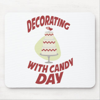 1st February - Decorating With Candy Day Mouse Pad