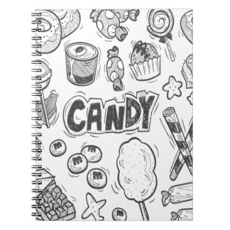 1st February - Decorating With Candy Day Notebooks