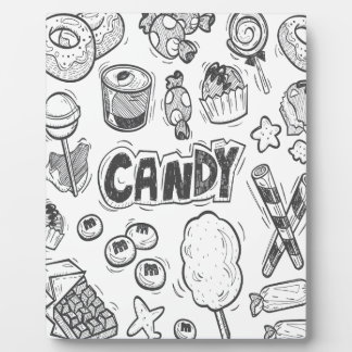 1st February - Decorating With Candy Day Plaque