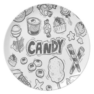 1st February - Decorating With Candy Day Plate