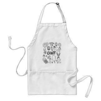 1st February - Decorating With Candy Day Standard Apron
