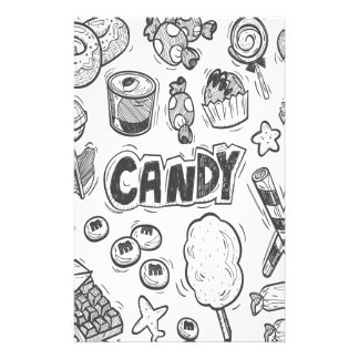 1st February - Decorating With Candy Day Stationery