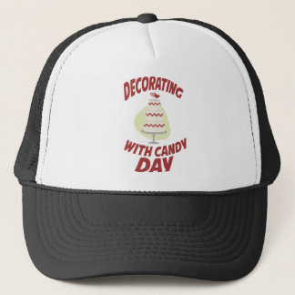 1st February - Decorating With Candy Day Trucker Hat