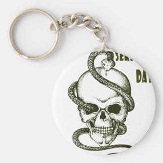 1st February - Serpent Day - Appreciation Day Basic Round Button Key Ring