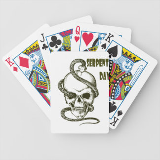 1st February - Serpent Day - Appreciation Day Bicycle Playing Cards