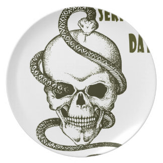 1st February - Serpent Day - Appreciation Day Plate