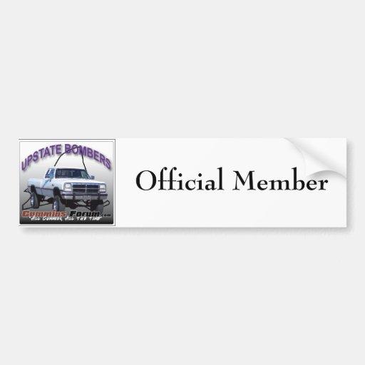 1st gen, Official Member Bumper Stickers